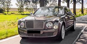 Our Fleets Bentley Mulsanne Chauffeur Services In London