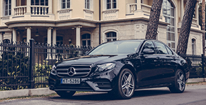 Our Fleets Mercedes E Class Chauffeur Services In London