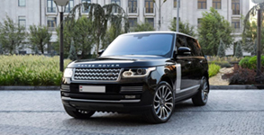 Our Fleets Range Rover Chauffeur Services In London
