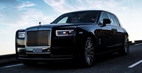 Our Fleets Rolls Royce Phantom VIII 8 Chauffeur Services In London